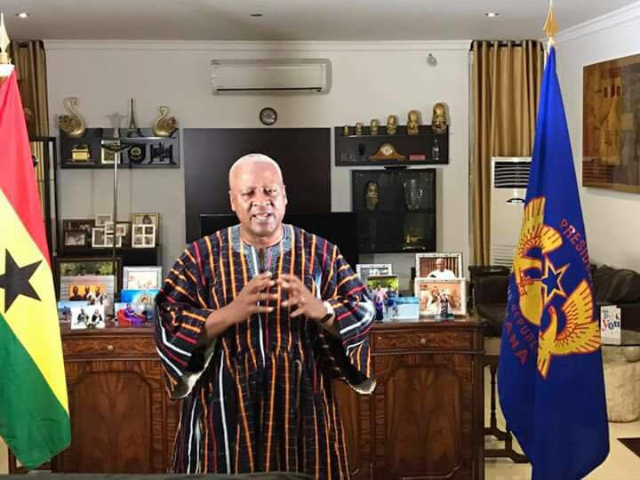 NEW YEAR MESSAGE Mahama 2017, President Mahama, Ghana,